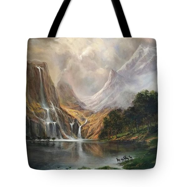 Study In Nature Tote Bag