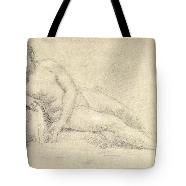 Study Of A Female Nude  Tote Bag