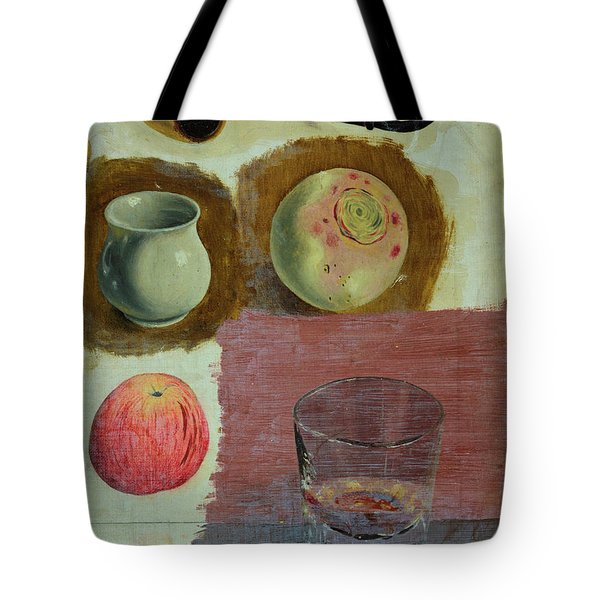 Study Of A Pipe And Other Objects Tote Bag