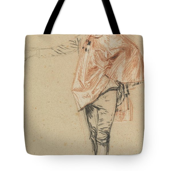 Study Of A Standing Dancer With An Outstretched Arm Tote Bag
