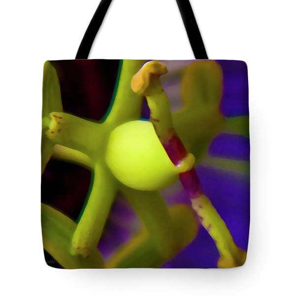 Study Of Pistil And Stamen Tote Bag by Betsy Knapp