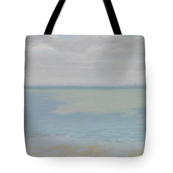 Study Of Sky And Sea Tote Bag by Herbert Dalziel