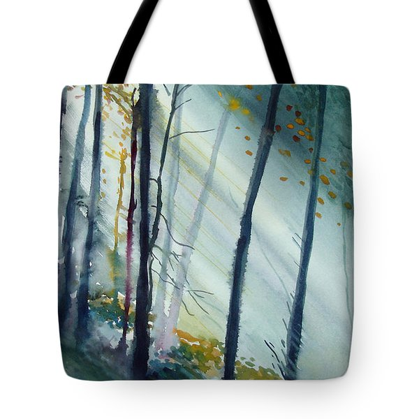 Study The Trees Tote Bag by Allison Ashton