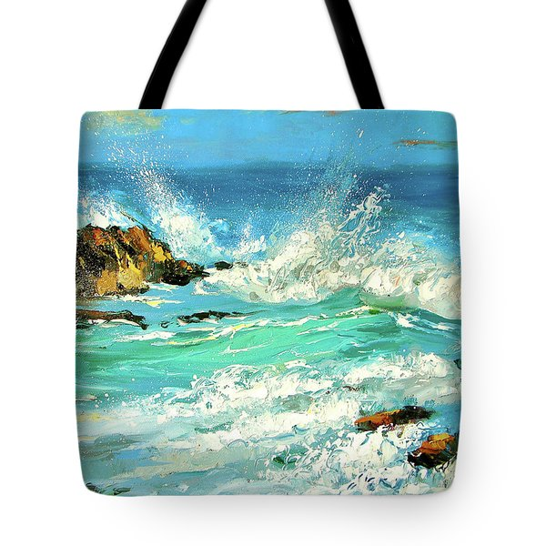 Study Wave Tote Bag