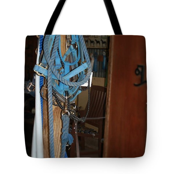 Stuff In The Barn Tote Bag by Roena King