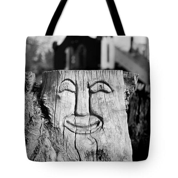 Stump Face 1 Tote Bag