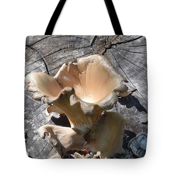 Stump Mushroom I Tote Bag