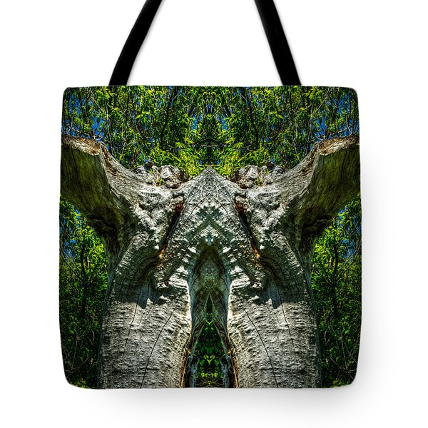 Stumped Tote Bag