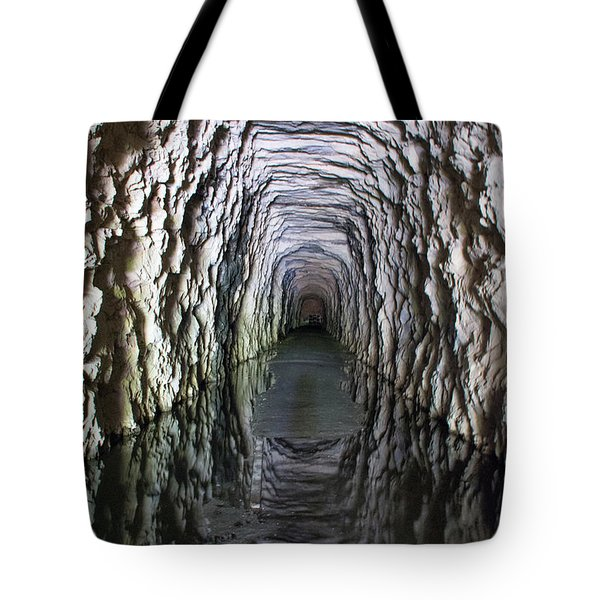 Stumphouse Mountain Tunnel Tote Bag