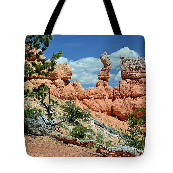 Tote Bag featuring the photograph Stunning Bryce Canyon National Park Backcountry by Bruce Gourley