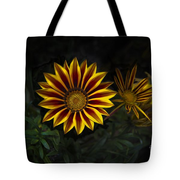 Stunning Flowers Abound Here Tote Bag
