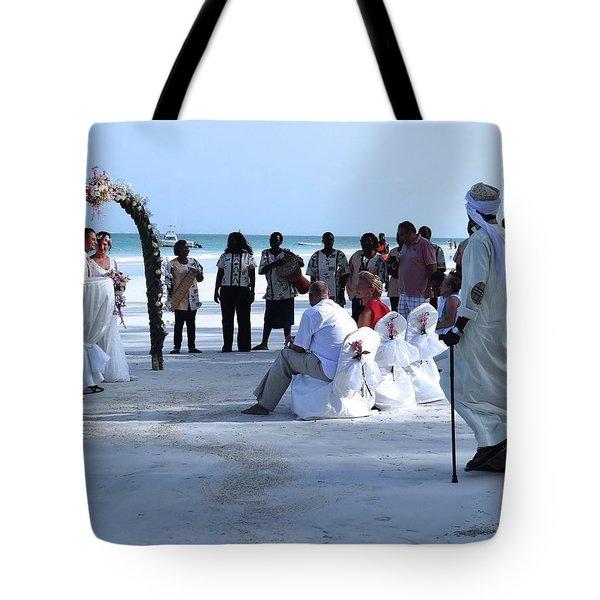 Stunning Kenya Beach Wedding Tote Bag
