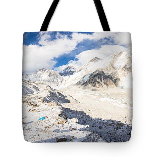 Stunning Nepal - Ebc Tote Bag