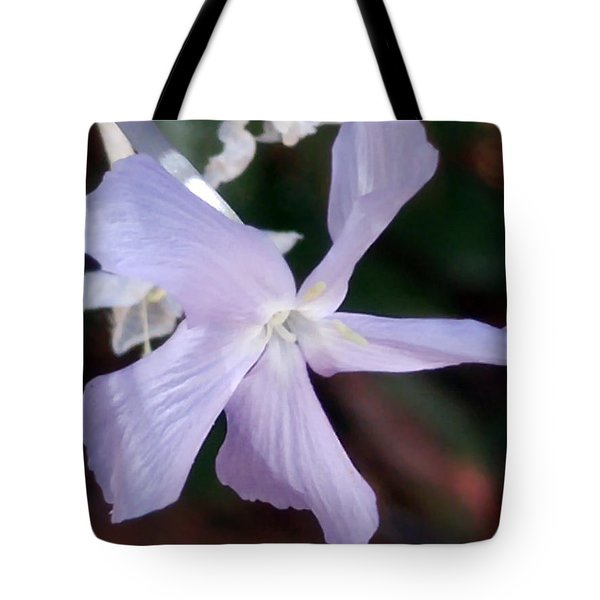 Stunning New Mexico Purple Wildflower Tote Bag