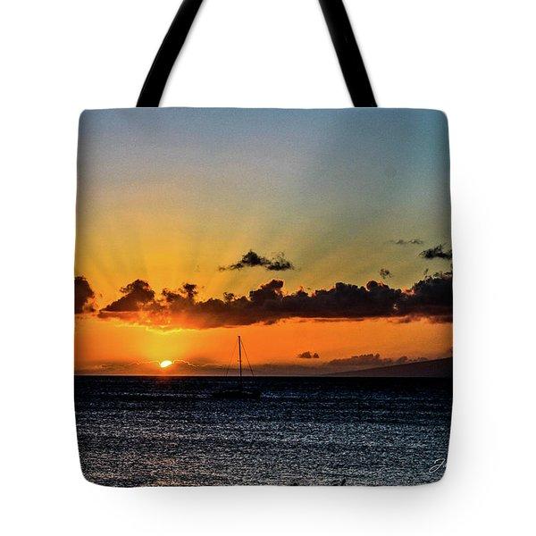 Stunning Sunset Tote Bag