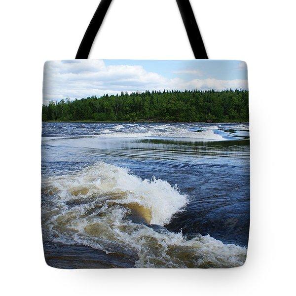 Sturgeon Falls Manitoba Tote Bag
