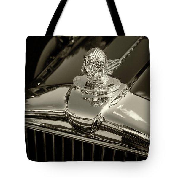 Stutz Hood Ornament Tote Bag
