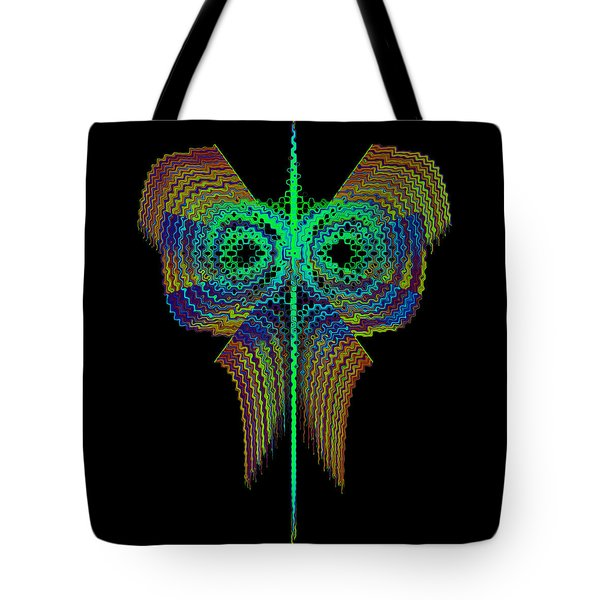 Tote Bag featuring the digital art Stworabled by Andrew Kotlinski