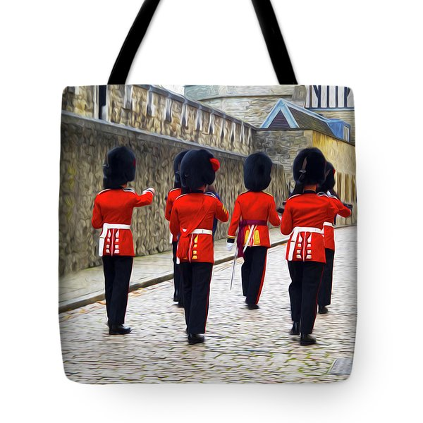 Step Aside For The Tower Guard Tote Bag