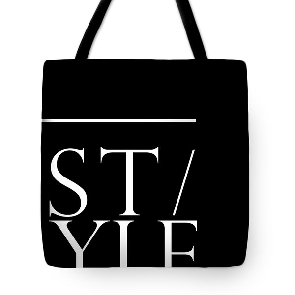 Style 1 - Minimalist Print - Typography - Quote Poster Tote Bag
