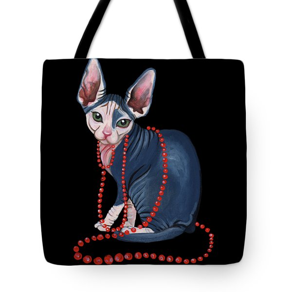 Stylish Sphynx Tote Bag