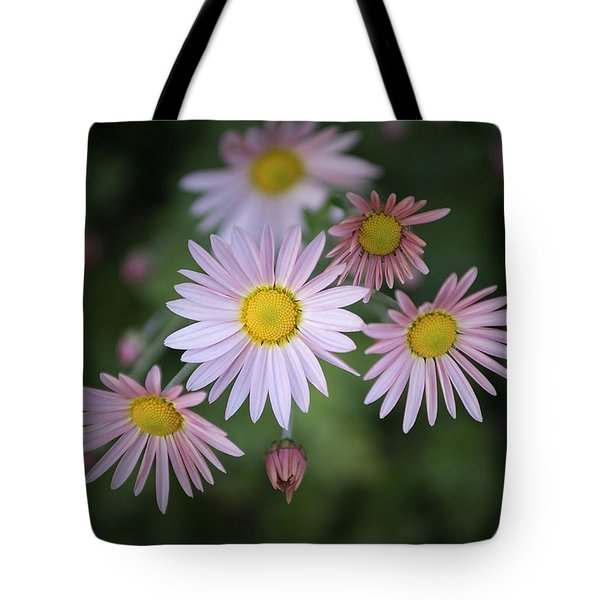 Stylized Daisies 1 Tote Bag