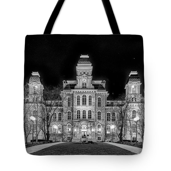 Su Hall Of Languages Tote Bag