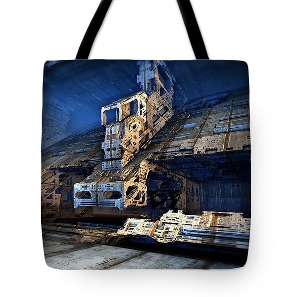Sublevel Thirteen Tote Bag