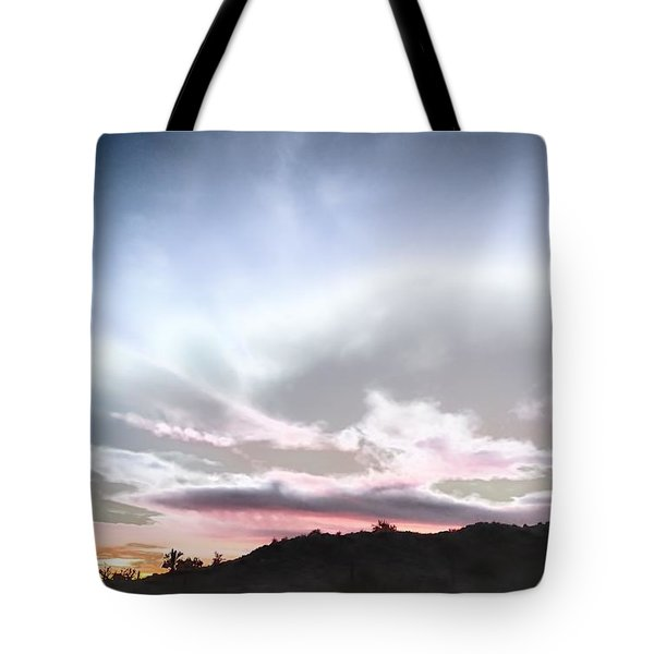 Submarine In The Sky Tote Bag