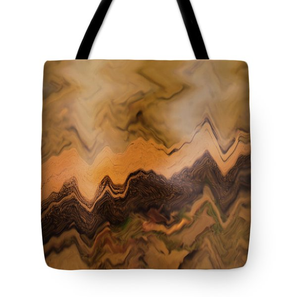 Tote Bag featuring the photograph Submerged Railroad Tie by Dennis Dame