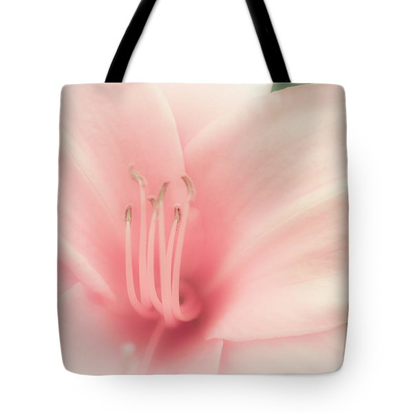 Subtle And Pink Tote Bag