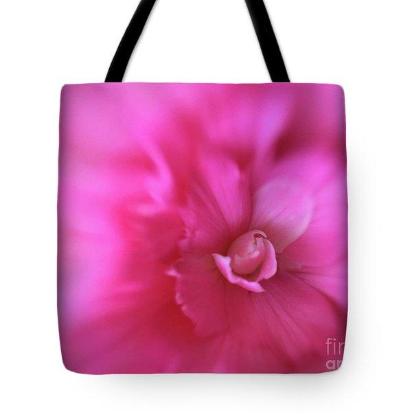 Subtle Begonia Tote Bag