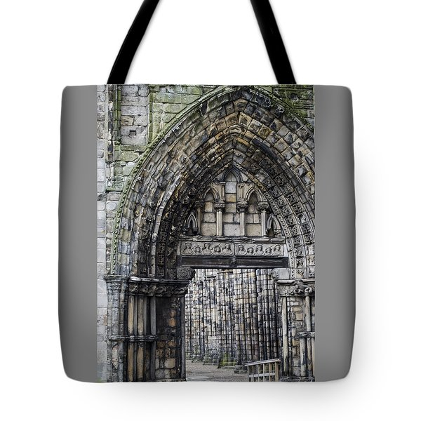 Subtle Shades Of Stone Holyrood Edinburgh Scotland Tote Bag by Sally Ross