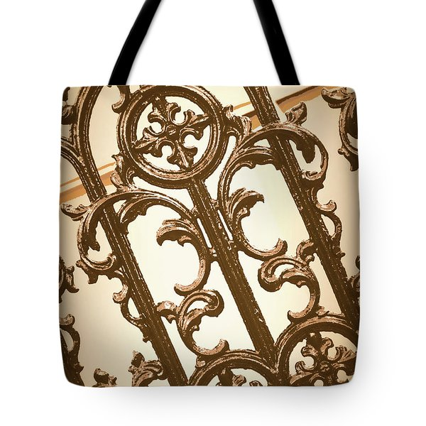 Subtle Southern Charm In Sepia Tote Bag
