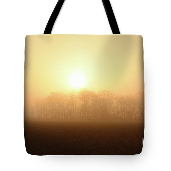 Subtle Sunrise Tote Bag