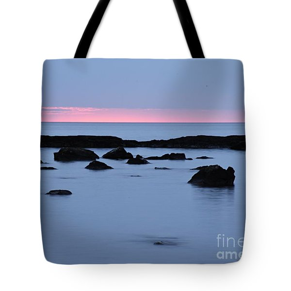 Tote Bag featuring the photograph Subtle Sunrise by Larry Ricker