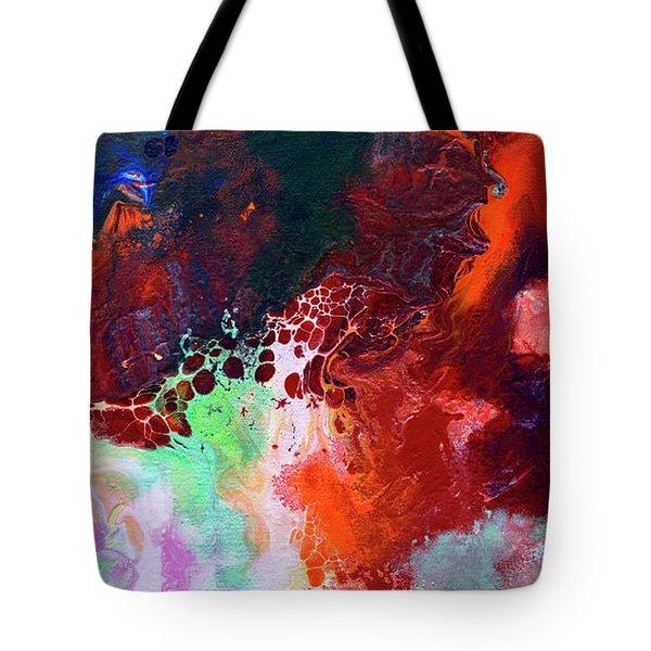 Subtle Vibrations, Canvas Five Of Five Tote Bag