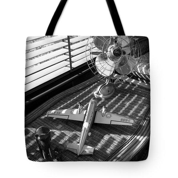 Suburban Runway Tote Bag by Charles Stuart