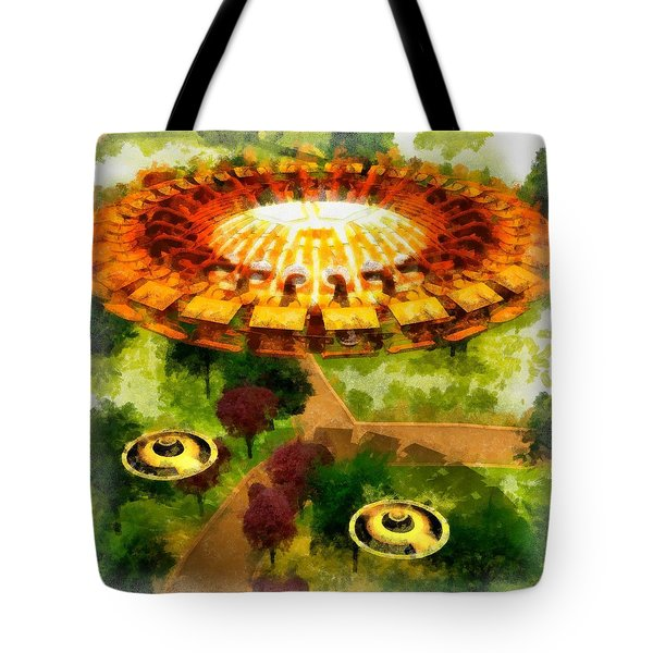 Suburban Ufo Tote Bag