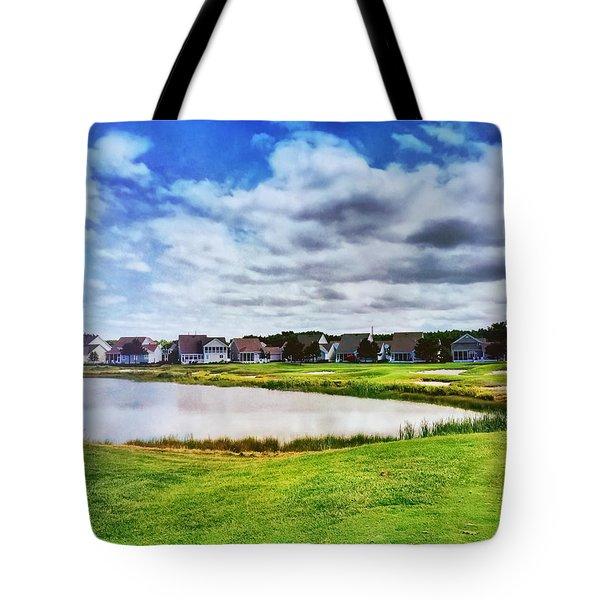Suburbia Tote Bag