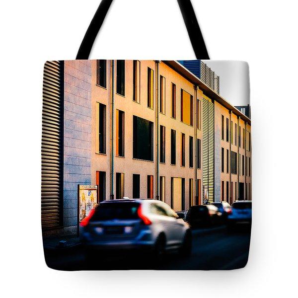 Suburbs Tote Bag