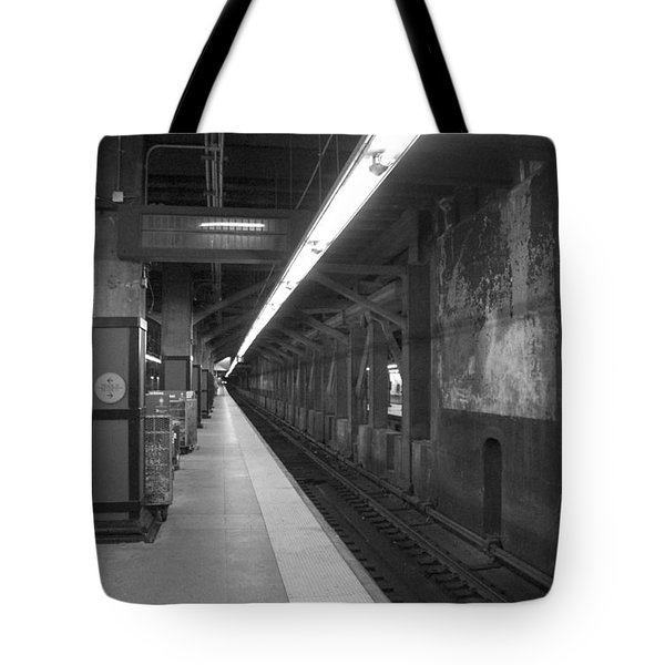 Tote Bag featuring the photograph Subway At Grand Central by Allen Carroll
