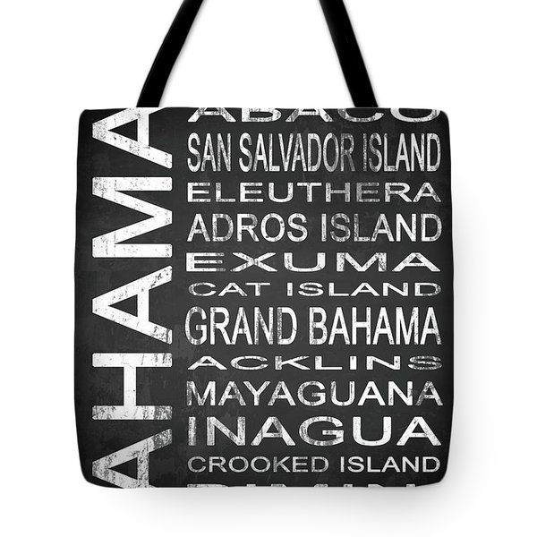 Subway Bahamas 1 Tote Bag