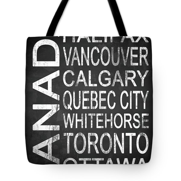 Subway Canada 2 Tote Bag