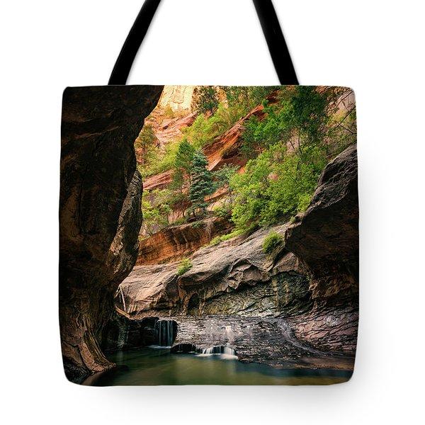 Subway Canyon Tote Bag