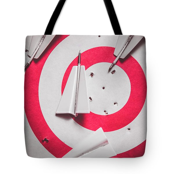 Success And Failures. Business Target Tote Bag