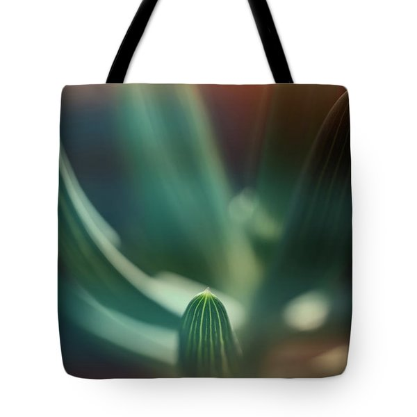 Succulent Emerging Tote Bag