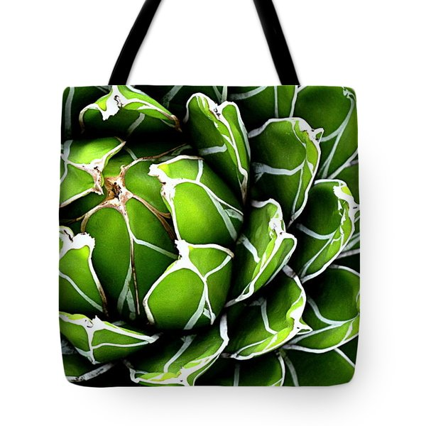 Succulent In Color Tote Bag by Ranjini Kandasamy