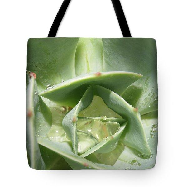 Succulent Macro Tote Bag