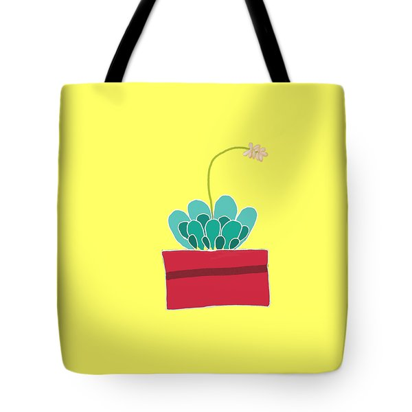 Succulent  Tote Bag by Priscilla Wolfe